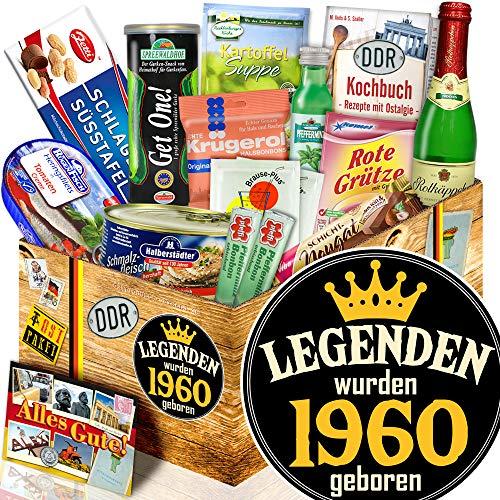 Legenden 1960 - Präsentkorb Spezialitäten DDR - Frau Geburtstag Geschenke