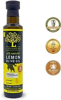 late harvest olive oil