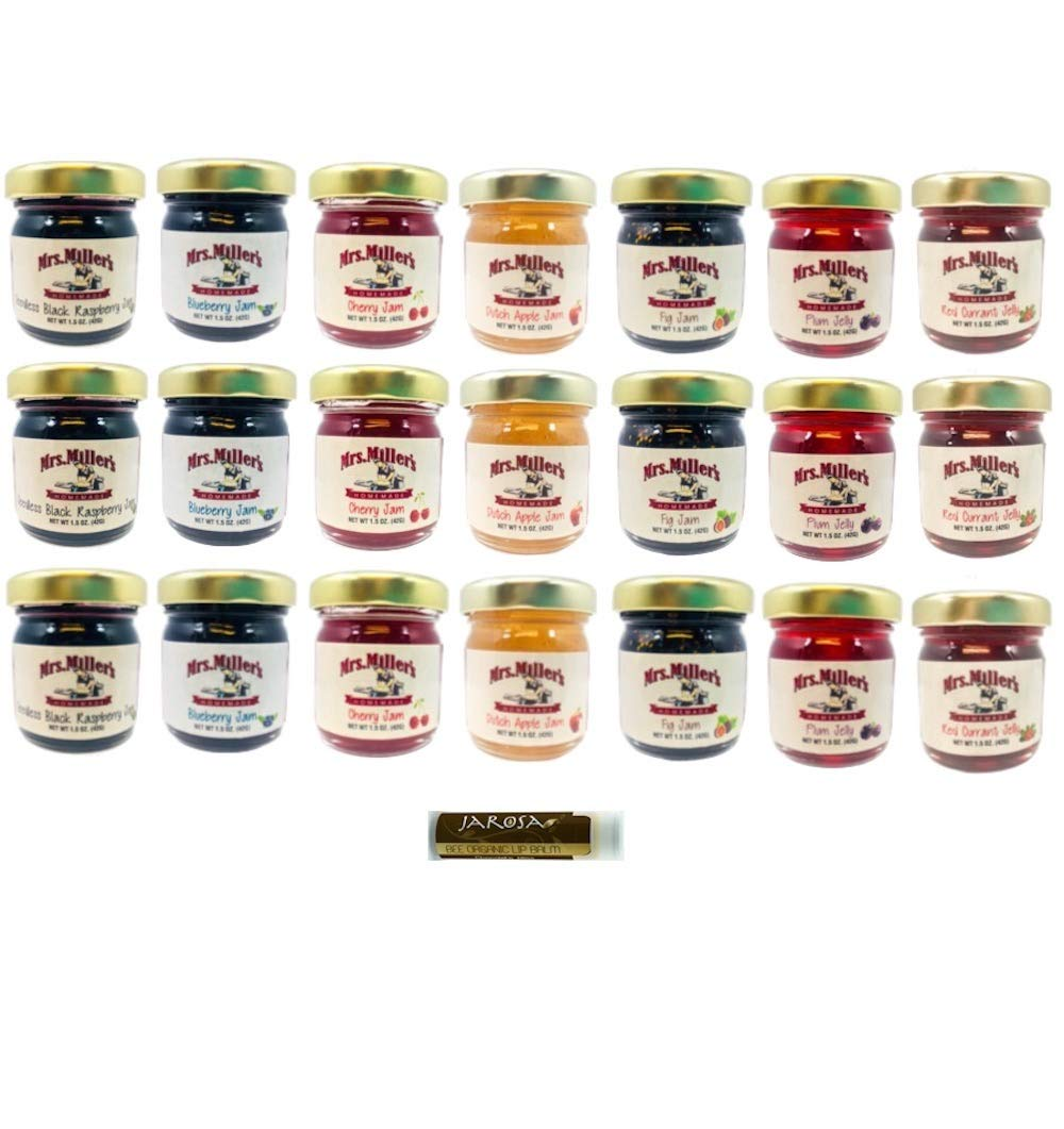 Mrs. Outlet ☆ Free Shipping Miller's Mini 7 FLAVOR HOMESTYLE Jams Sample Jellies and New mail order