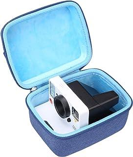 Aproca Hårt förvaringsfodral för polaroid original 9002/9003/9008/9009/9016/9017/OneStep 2 i-typ direktkamera (blå)