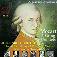 Mozart: 5 String Quintets (Live at the Library of Congress 2) (2004-11-02)
