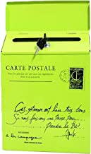 Vintage Retro Wall Mount Mailbox Mail Postbrief Krantendoos Waterdicht (Kleur: Groen)