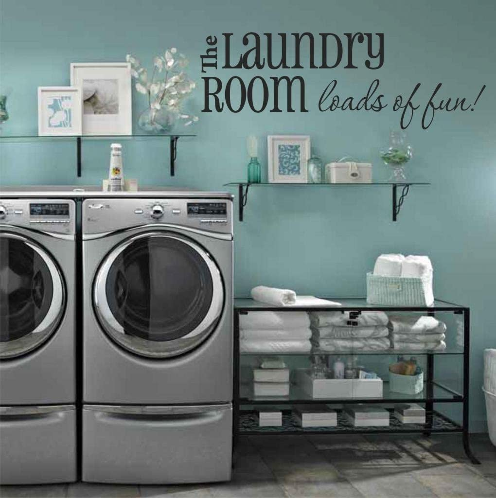 Laundry Room Wall Decals   Loads of Fun 20