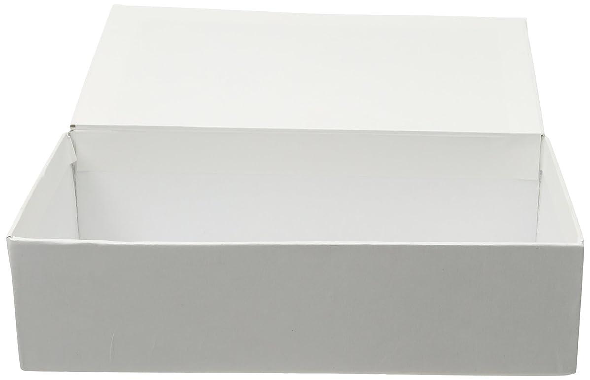 Darice Ready to Decorate School Box: White, 8.625 x 5 x 2.25 inches