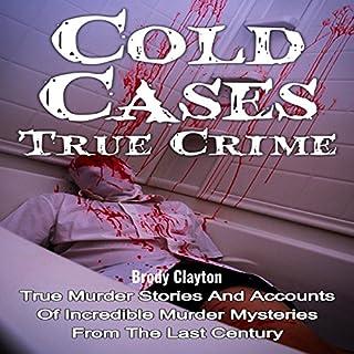 Cold Cases: True Crime audiobook cover art