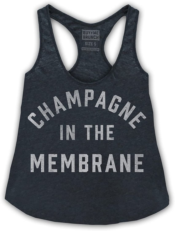 Buy Me Brunch Women's Champagne Tank