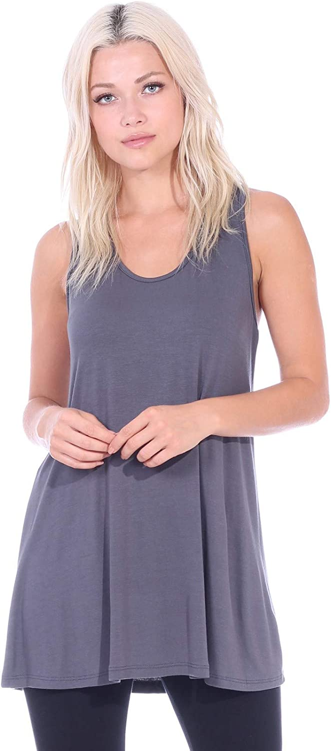 Details about  /Calida NWT Sleeveless Tunic Lounge Top Pink Modal Jersey Knit S