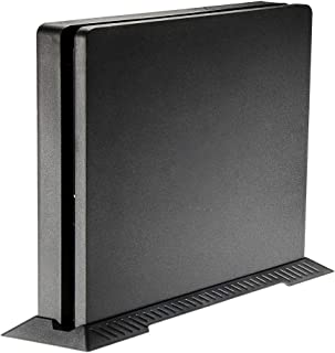 eXtremeRate Vertical Stand Bracket Holder for Playstation PS4 Slim Game Console Black