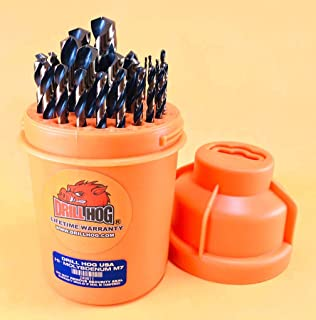 Drill Hog 29 Pc Super HI-Molybdenum M7+ Drill Bit Set