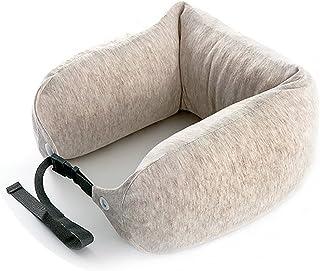 Portable Travel Pillow Support U-shaped Neck Pillow Neck Head Memory Foam Lightweight Soft Cushion Lunch Break (Color : B)