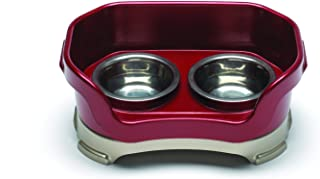 NEATER PET BRANDS Neater Feeder Deluxe Dog The Mess Proof Elevated Bowls No Slip Non Tip Double Diner Stainless Steel Food Dish with Stand