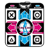 Non-Slip Dance Pad Dancing Mat, PC USB Dancing Mat Compatible for PC AV Video Game