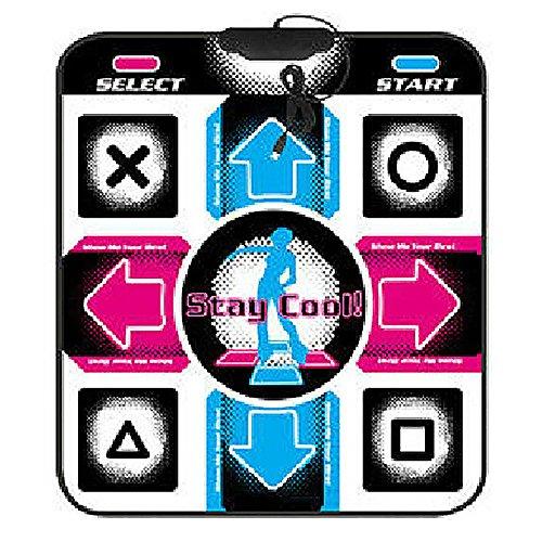 FANFA USB HD Non-Slip Dancing Step Dance Mat, Electronic Musical Playmat Musical Play Mat Sensor TV AV Video Game Dance Mats Pads Applicable to Adults/Children