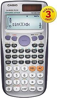 Calculadora Científica 417 Funções, Casio, 61916, Prata