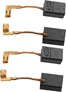 D2D 2 pares de cepillos de carbono CB459 de repuesto compatibles con Makita GA4530R GA4534 JS1000 GA5030 TM3000C PJ7000