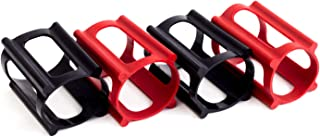 SkaterTrainer The Official Skater Trainers | Patented Accessories for Skateboards Wheels | Engineered and Made in USA (Combo Red/Black Set)