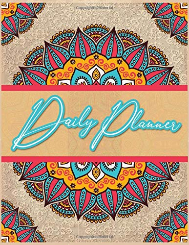 Daily Planner Weekly and Monthly: Weekly Monthly Planner Organizer