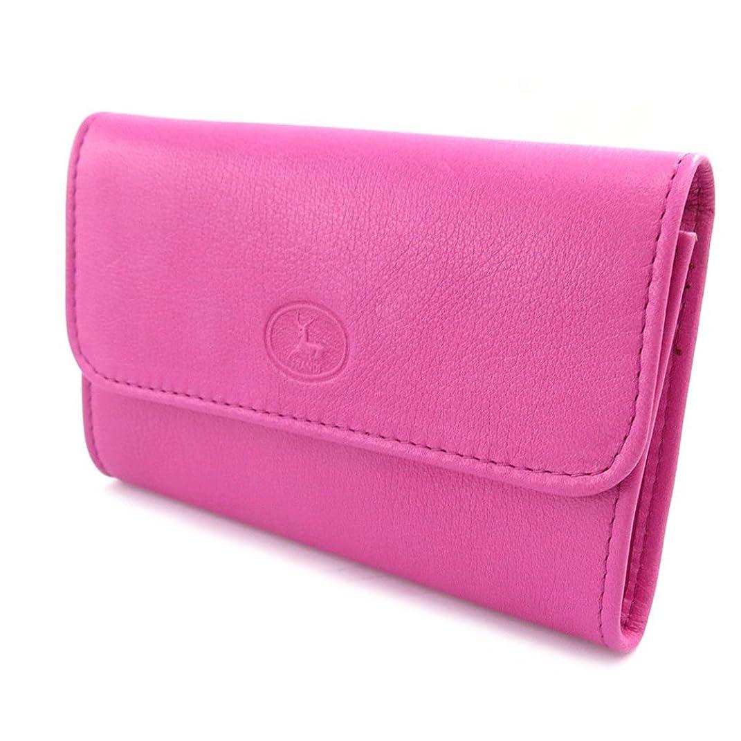 メカニック振りかける運営Frandi [J6491] - Porte-monnaie Cuir 'Frandi' rose violet