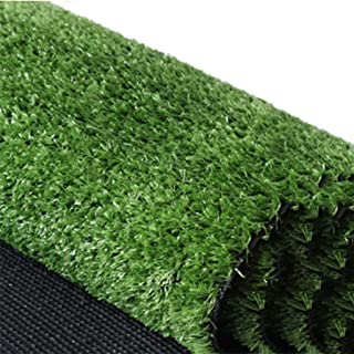 YNFNGX Artificial Turf Grass 15mm Pile Height, Encryption Soft Green Synthetic Fake Lawn Garden Pet Lawn Mat Outdoor Decor...