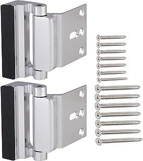 Door Security Lock, Child Proof Door Reinforcement Lock with 2