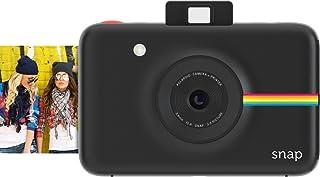 Polaroid Snap Instant Digital Camera (Black) with ZINK Zero Ink Printing Technology