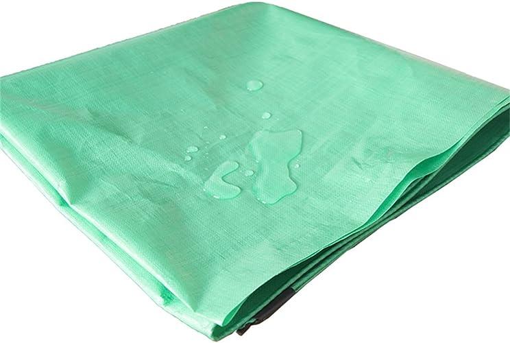 Bache Bache de Pluie Verte imperméable à l'eau de bache de Prougeection Solaire de bache de Tricycle de bache de Soleil d'ombre de bache, épaisseur 0.3mm, 180g   m2, Options DE 12 Tailles