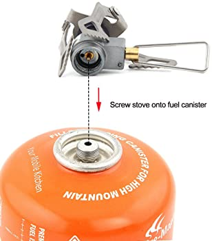 BRS 3000T Stove Backpacking Stove Camping Stove Ultralight Titanium Only 25g