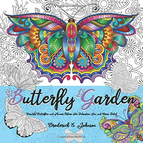 Amazon.com: Butterfly Garden: Beautiful Butterflies and Flowers ...
