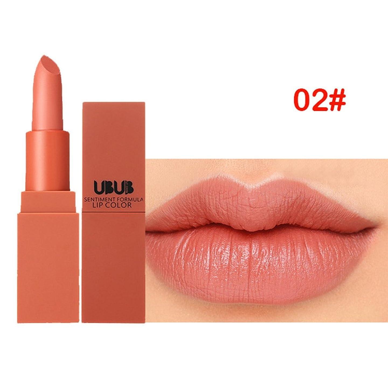 物理添加剤ポーターフラワーカラー リップスティック YOKINO 保湿 防水唇 光沢 口紅 24時間持久 おしゃれ  リップバーム  リップ 滑る カップにこだわらない 5色 選択 新作-4312 (2#)