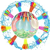 296 PCS Wasserbomben,waterballons,Wasserbomben selbstschließende,8 Bündel mit je 37...