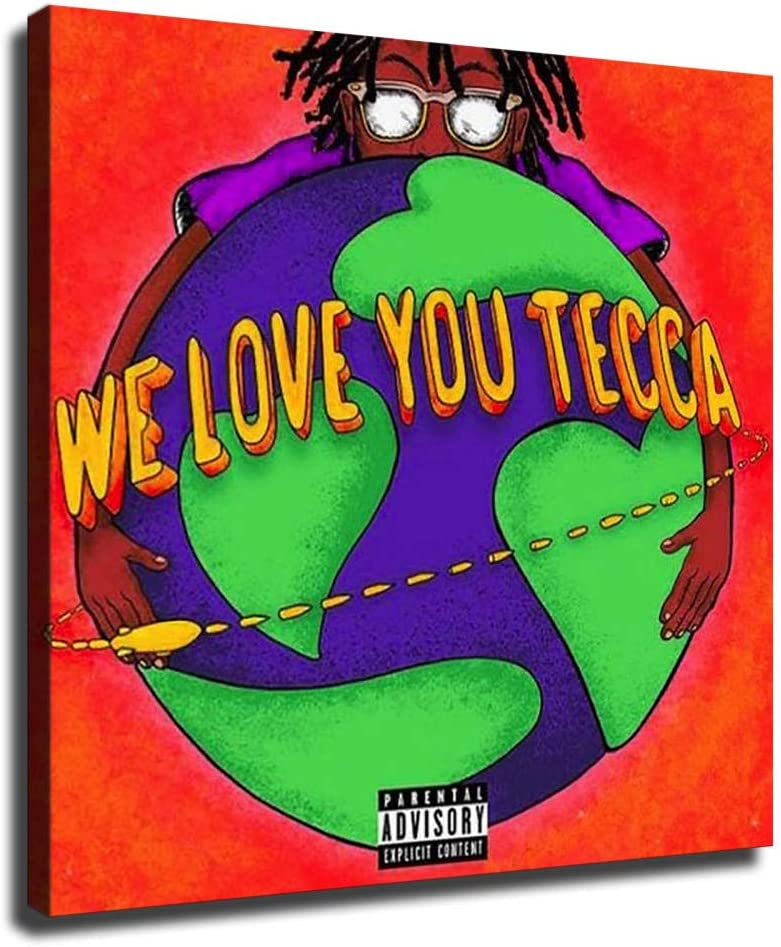 We Love 毎日続々入荷 You Tecca Lil Canvas Poster Wall and Art Pictu 格安SALEスタート