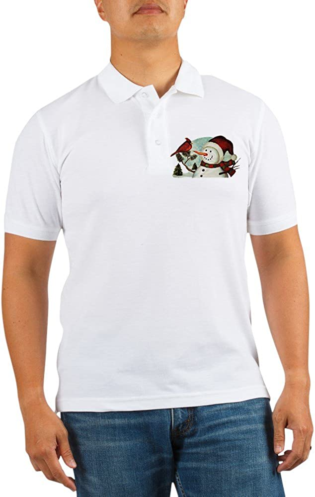 Royal Lion Golf Cheap sale Shirt Cardinal Frosty Snowman Christmas Discount is also underway