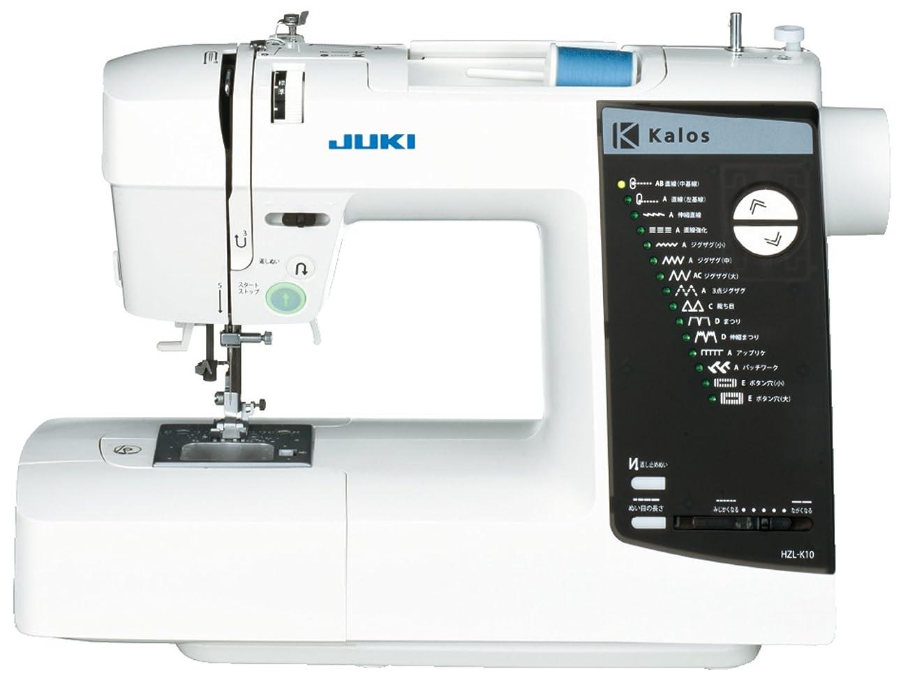タイプ起訴する光電JUKI コンピューターミシン 『kalos』 ハードケース付き HZL-K10