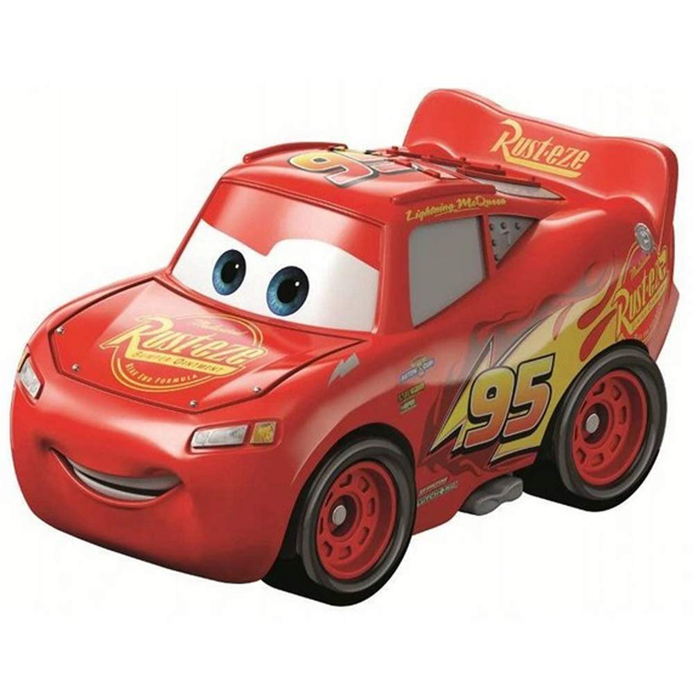 Disney Pixar Cars Metal Mini Racers - Lightning McQueen - FKT67: Amazon.es: Juguetes y juegos