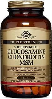 Solgar - Extra Strength Glucosamine Chondroitin MSM, 60 Tablets