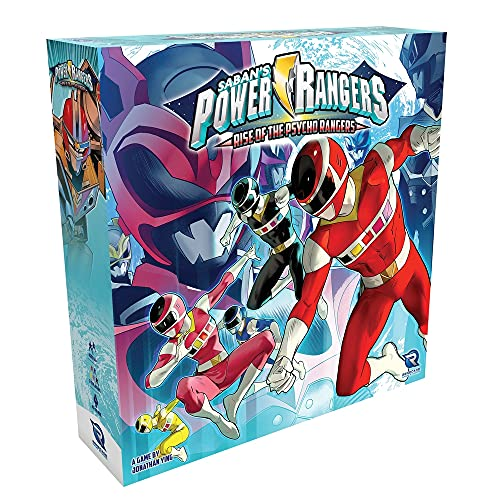Renegade Game Studios Power Rangers - Heroes of The Grid: Rise of The Psycho Rangers Expansion