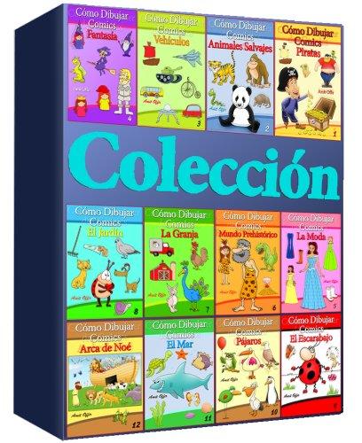 Cómo Dibujar Comics:   Colección de 12 Libros (Libros de Dibujo - Co