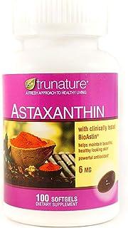 TruNature Astaxanthin 6 mg - 2 Bottles, 100 Softgels Each