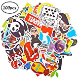 Stickers Graffiti BESLIME 100pcs Paquete de Pegatinas,Calcomanías Vinilo, para Portátiles, Niños, Automóviles, Motocicletas, Bicicletas, Monopatines, Impermeable Stickers