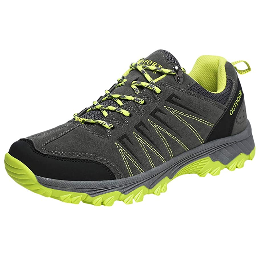 ABASSKY Couple Outdoor Hiking Shoes Non-Slip Wearable Casual Sneakers