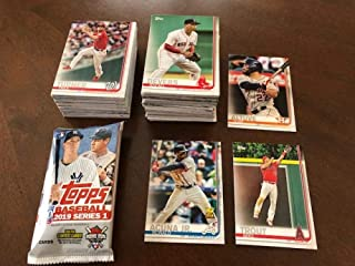 2019 Topps MLB Series One Complete Hand Collated Baseball Set of 350 Cards comes with a EMPTY RETAIL WRAPPER AND FREE SHIPPING IN THE UNITED STATES on your entire order from my store Includes cards of Mike Trout, Shohei Ohtani, Ronald Acuna Jr., Aaron Judge, and many more stars and rookie cards
