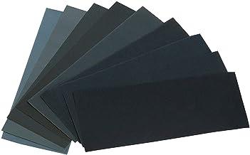 24 unidades de papel de lija variado de 12 frijoles surtidos