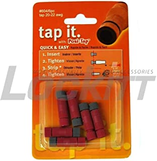 Lockitt POSI-TAP 6 pack wire connectors 20-22 awg