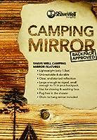 シェーブ・ウェル・カンパニー 割れないキャンプ用ミラー – 防災袋や、男性のエチケット用にも(輸入品)