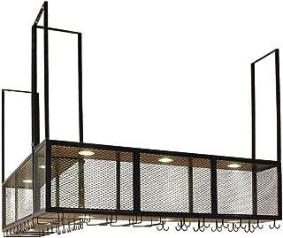 Casiers à vin | Porte-Bouteille et Verre | Porte-vin Rustique | Support de Rangement pour étagère Murale | Étagère Murale ...