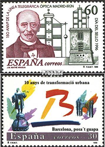 Prophila Collection España Michel.-No..: 3261,3262 (Completa.edición.) 1996 Telegraph, Barcelona (Sellos para los...