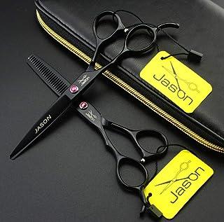 Retro Barber Scissors Luxury Hair Scissors, Professional Hairdressing Scissors, 6 Inch Professional Japanese Scissors, Pur...