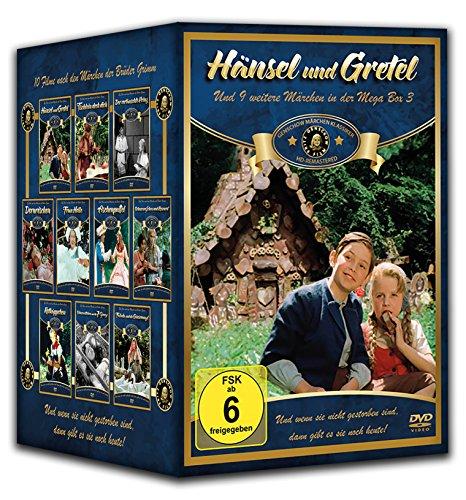 Märchen Klassiker-Box Fritz Gentschow (10 DVDs: Hänsel und Gretel - Tischlein deck dich - Der vertauschte Prinz - Dornröschen - Frau Holle - ... - Schneewittchen - Falada und die Gänsemagd)
