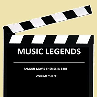 Famous movie themes in 8 bit Volume three