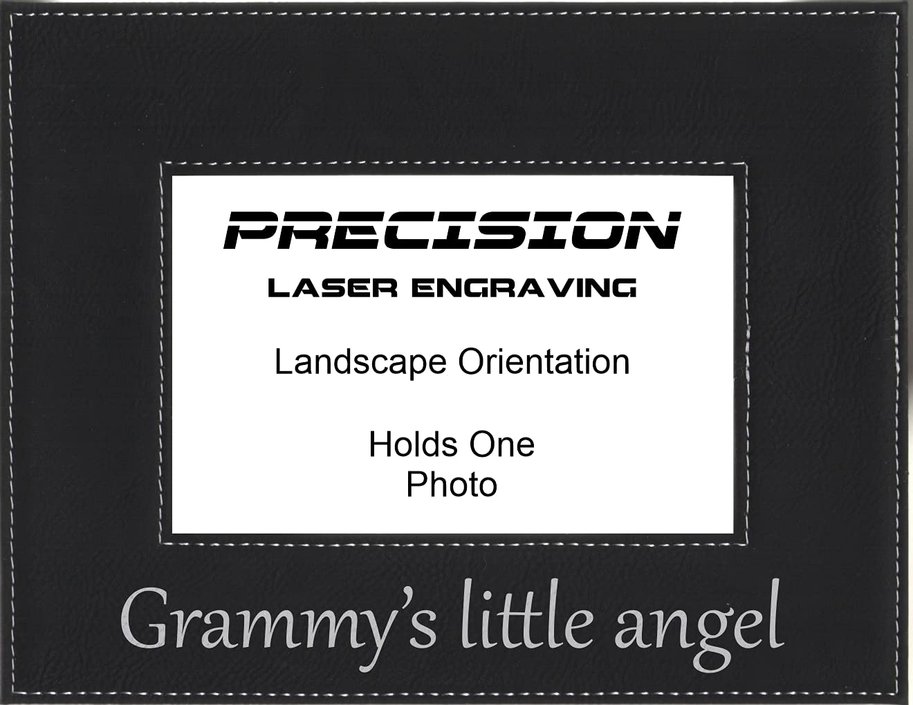 Grandma Grammy Gift wholesale Grammys little Max 81% OFF Pi Engraved angel Leatherette
